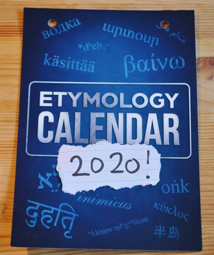 Etymologiekalender 2020